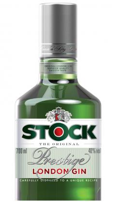 Stock GIN design label